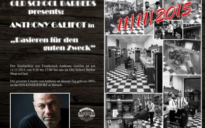 Anthony Galifot @ Old School Barbers