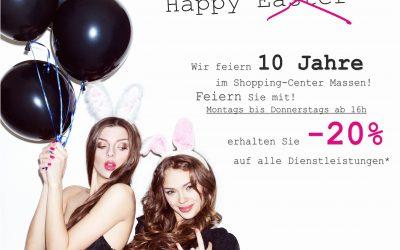 #Loveisinthehair – 10 Years byTom @ Shopping Center-Massen